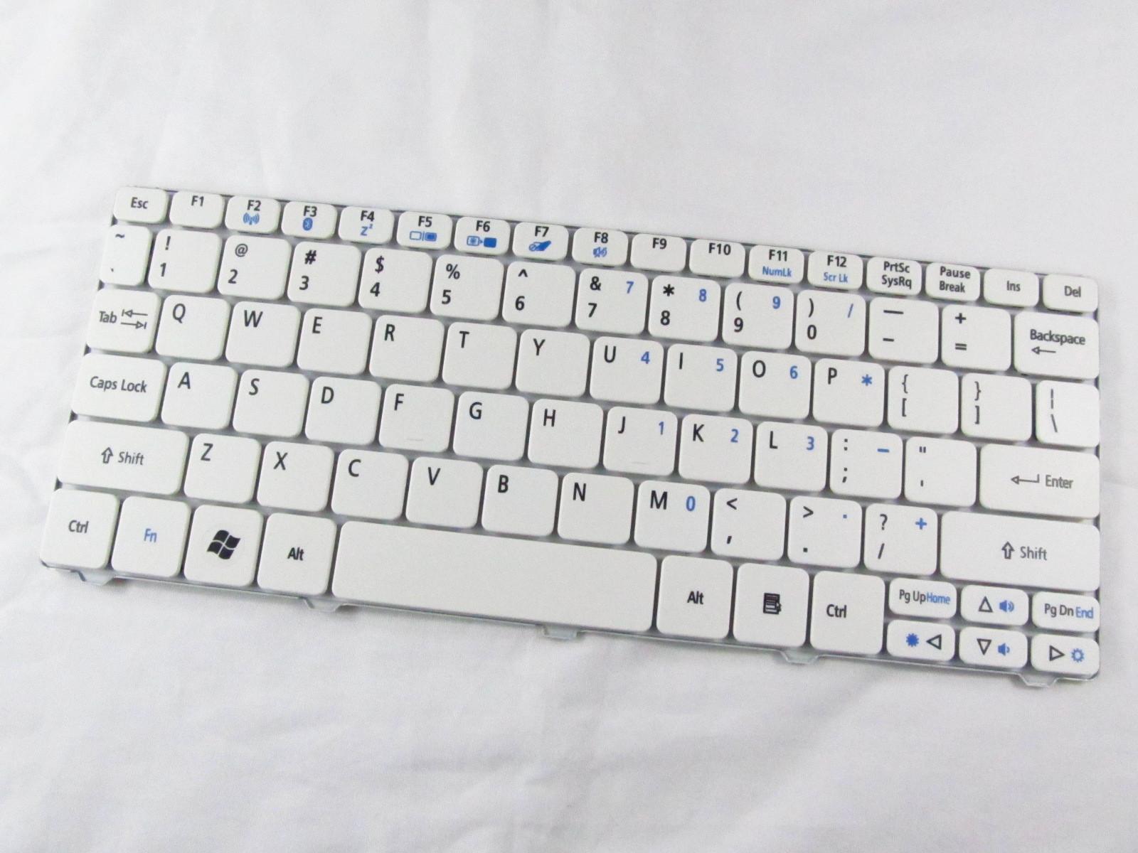 Klávesnice CZ-SK pro notebooky Acer Aspire One 532 532H AO532 D255 D255E D257 D260 - česká