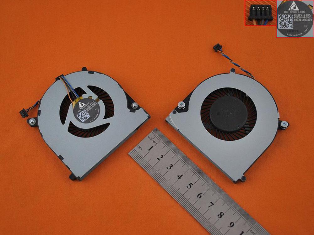 Ventilátor chlazení pro HP Elitebook 740 745 755 840 850 ZBook 14 G1