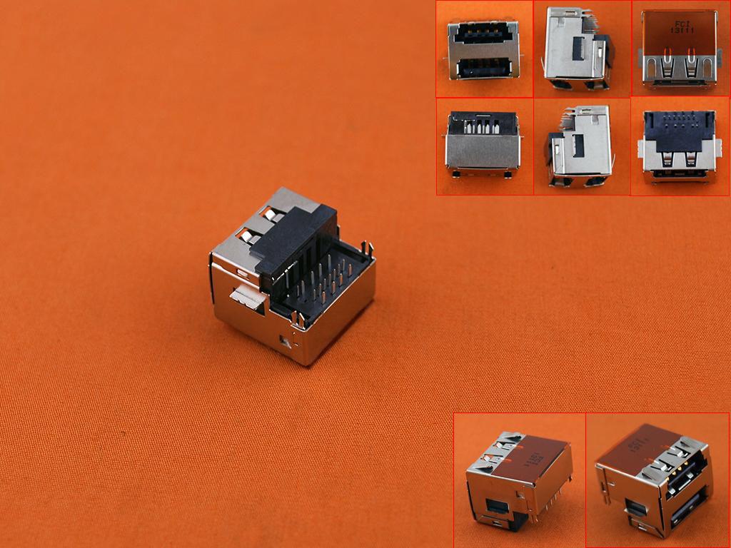 USB konektor / port pro Dell Latitude E6400 E6410 E6500 E6510