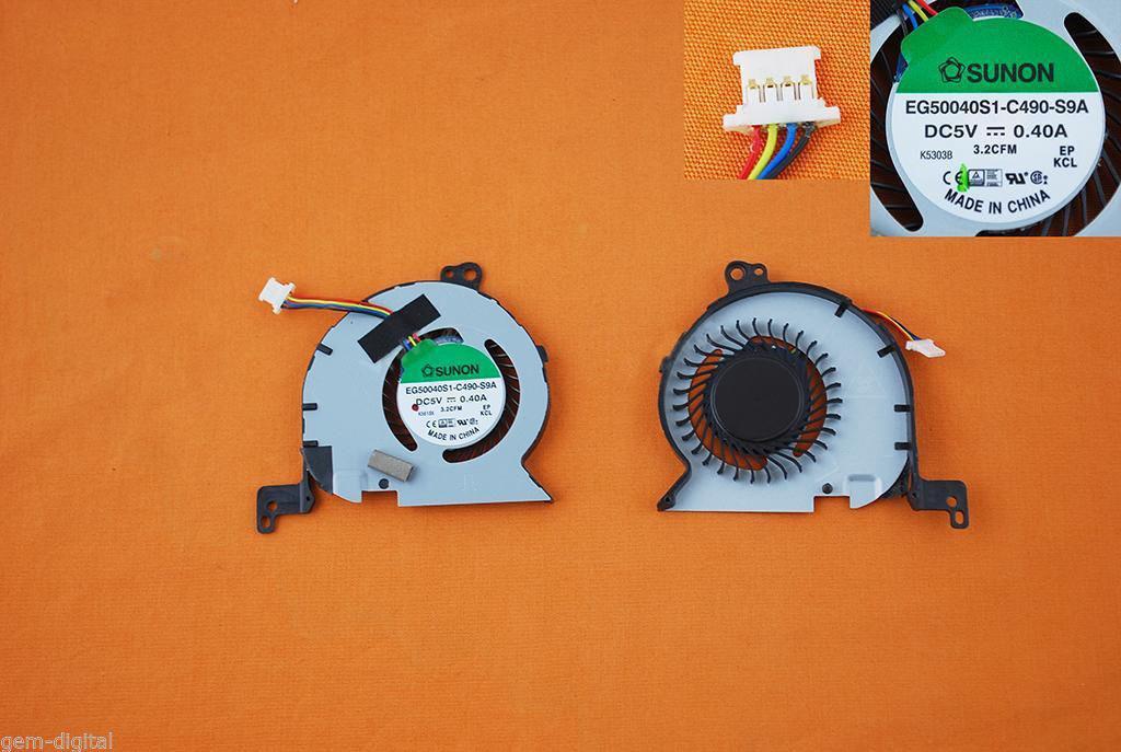 Ventilátor chlazení pro notebooky Dell Latitude 14 , E7450
