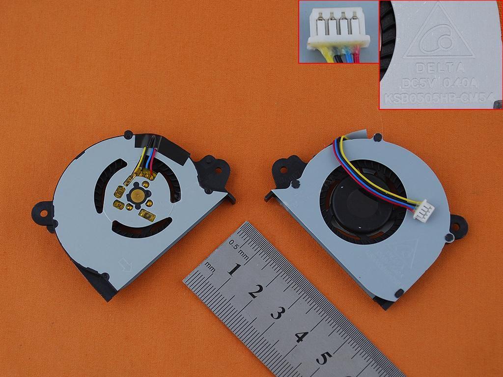 Ventilátor chlazení pro notebook: Asus Vivobook X202E S200E Q200E X202EP X201E