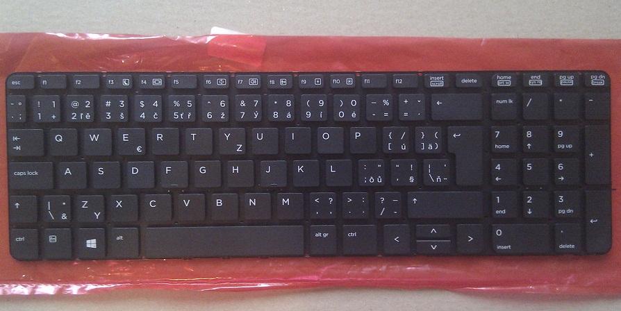 CZ/SK klávesnice HP Probook 450 G0 450 G1 455 G1