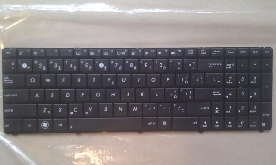 CZ ( česká ) klávesnice Asus N53 N61V K53 N60 N61J U50V U50 UL50 G60
