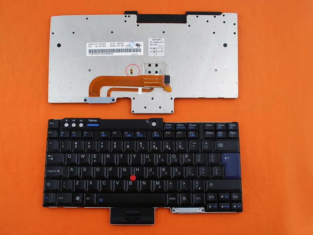 Klávesnice pro IBM Lenovo Thinkpad T60 T61 R60 R61 Z60T