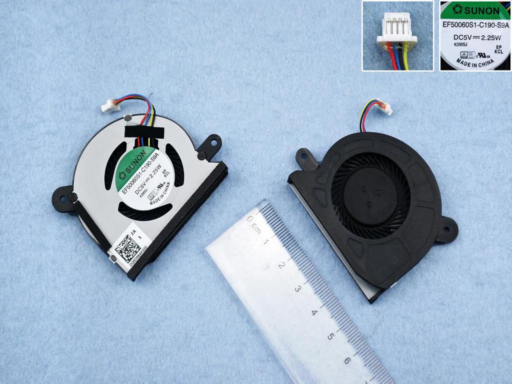 Ventilátor chlazení pro notebook: Asus X200CA X200A