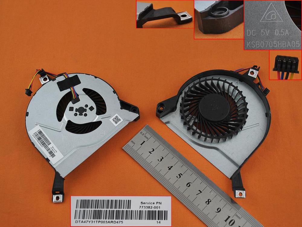 Ventilátor chlazení pro HP Envy 15-K 15-P 17-F