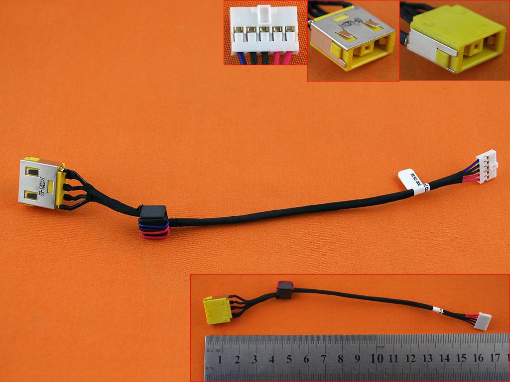Napájecí konektor DC Lenovo Ideapad G500 G505 G500S G505S, verze 2