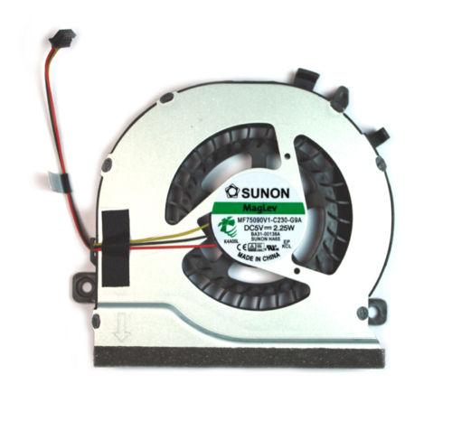 Ventilátor chlazení pro notebooky Samsung NP270E5E NP270E5V NP300E5E NP300E5V