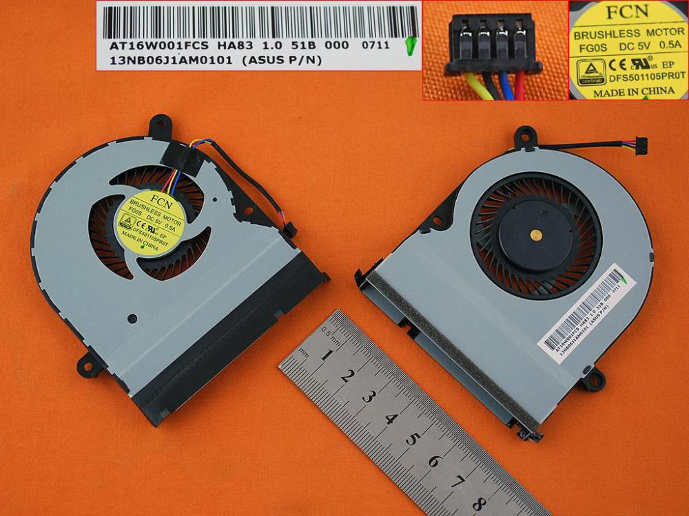Ventilátor chlazení pro notebook: Asus Transformer Book Flip TP300LA TP300L