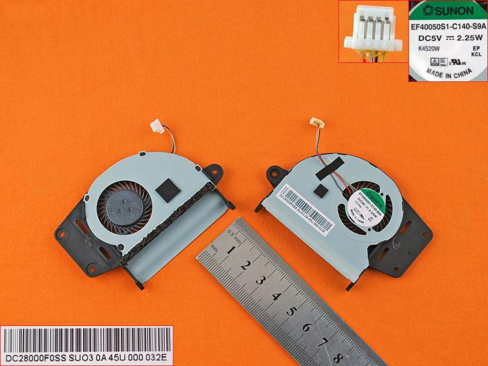 Ventilátor chlazení pro notebook: Asus ZenBook UX303LA UX303LN