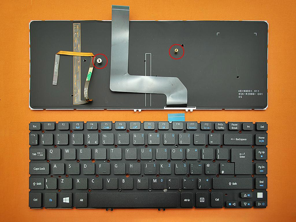 Klávesnice pro notebooky Acer Aspire M5 M5-481T M5-481TG M5-481PT M5-481PTG