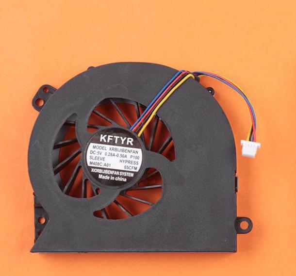 Ventilátor chlazení pro notebooky HP Probook 4440s 4540s 4740
