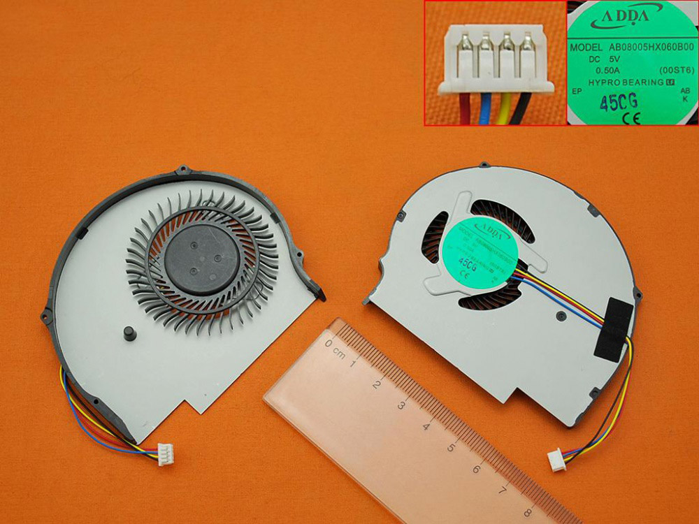 Ventilátor chlazení pro notebook Lenovo Ideapad Flex 14 Flex14 Flex 15 Flex15