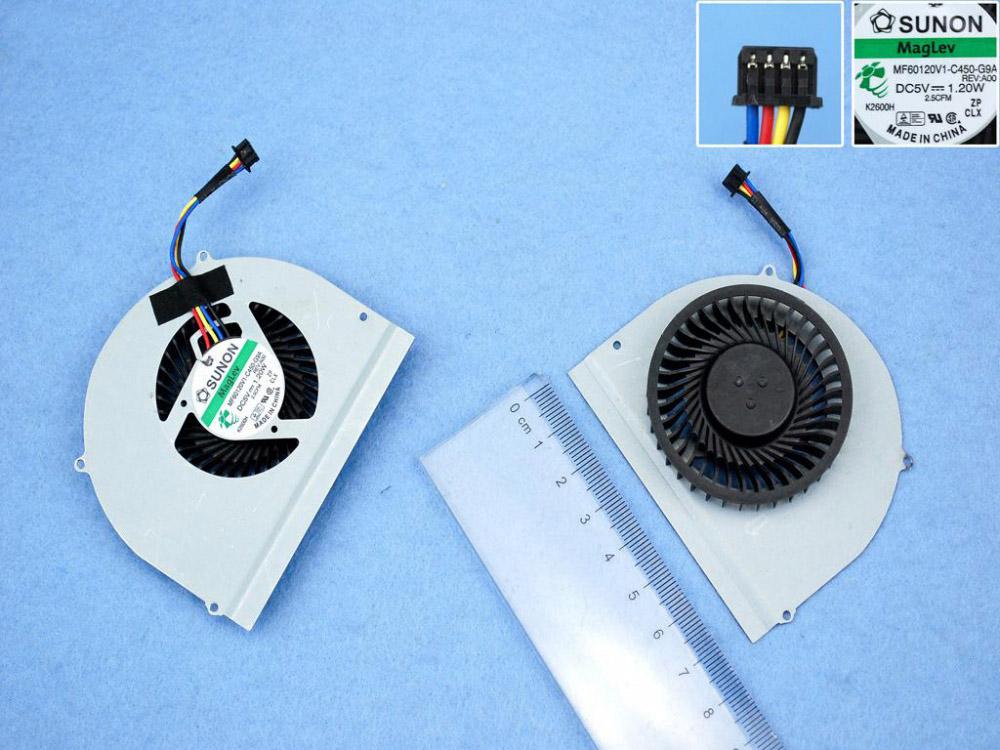 Ventilátor chlazení pro notebooky Dell Latitude E6530