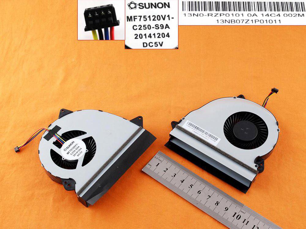 Ventilátor chlazení pro notebook: Asus GL552 ZX50