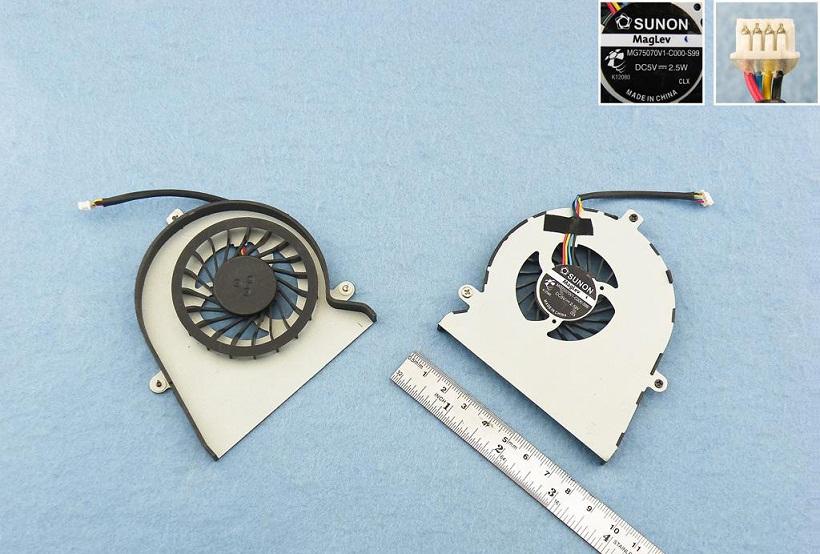 Ventilátor chlazení pro notebooky IBM Lenovo IDEAPAD Y560A Y560P Y560 F90Q