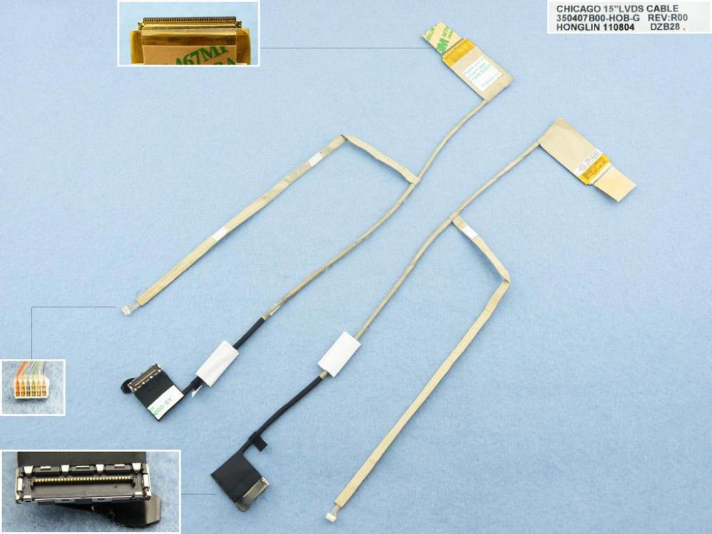 LCD flex kabel pro notebooky HP Compaq CQ57 CQ43 430 431 435 436