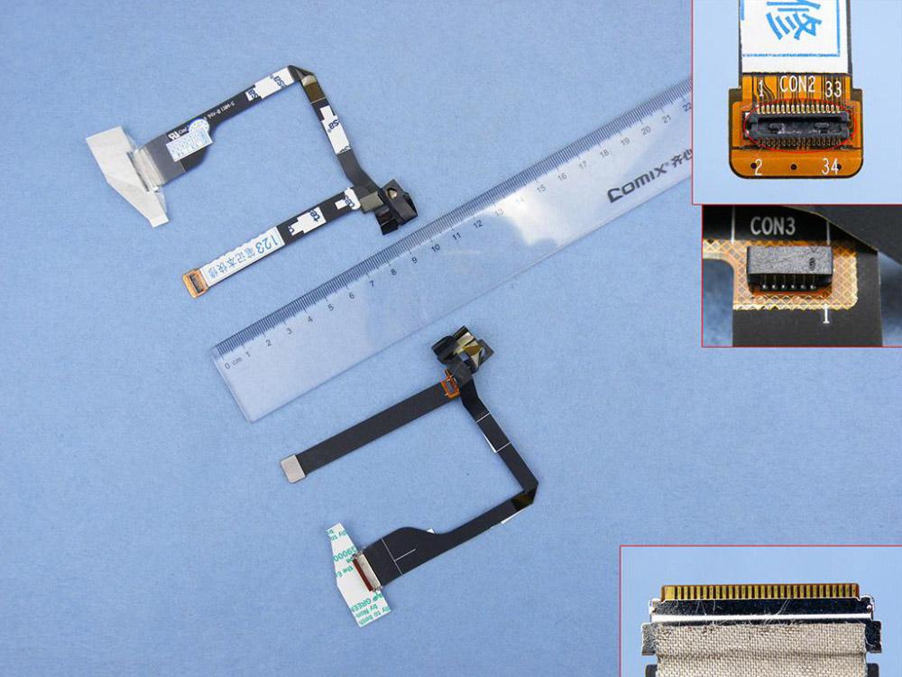 LCD flex kabel pro notebooky Acer Aspire S3 S3-391 S3-951