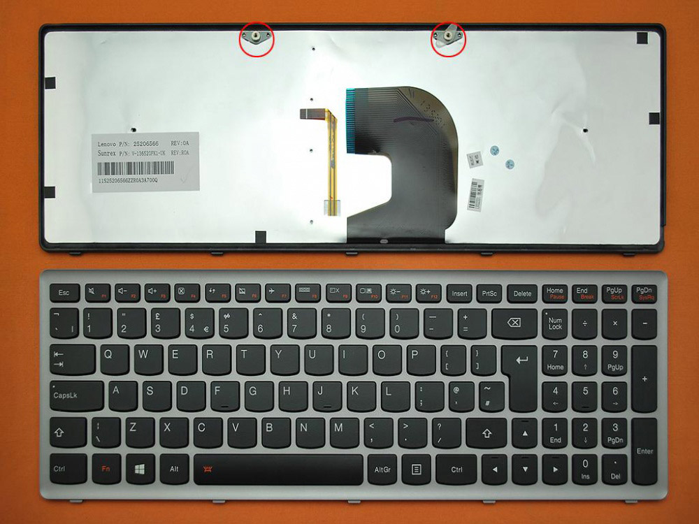 Klávesnice pro Lenovo IdeaPad Z500 Z500A Z500G