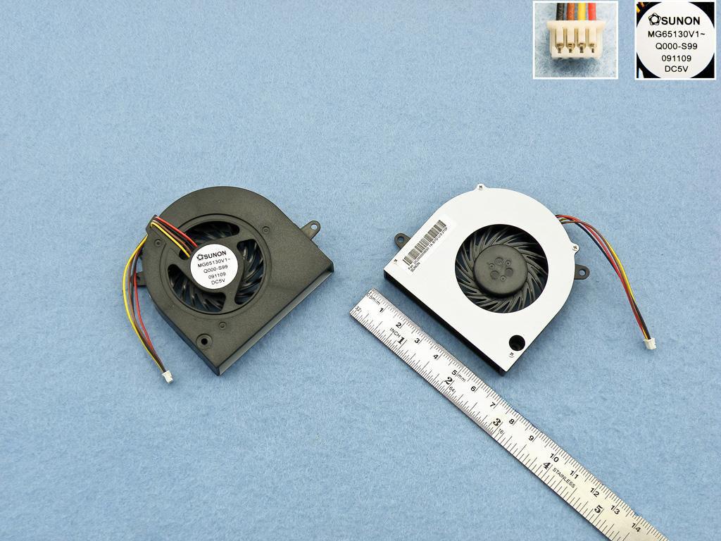 Ventilátor chlazení pro notebooky IBM Lenovo ideapad G460 G470 G475 G570 G560 Z460 Z465 Z560 Z565