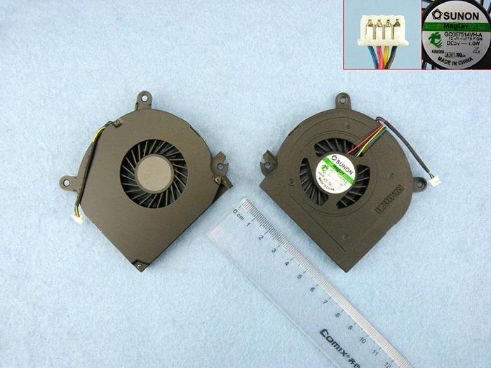 Ventilátor chlazení pro notebooky Dell Latitude E6500 Precision M4400