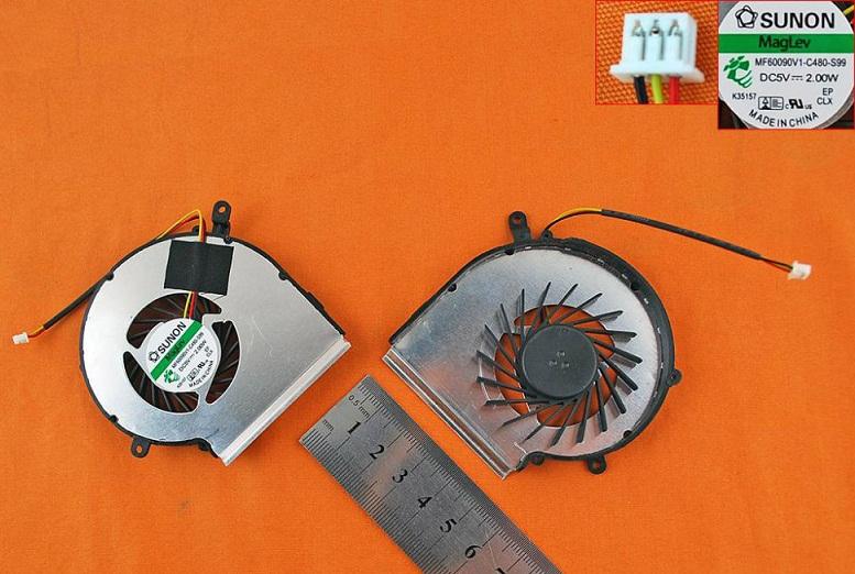 Ventilátor chlazení pro notebooky MSI GE62 GE72 GL62 GL72 PE60 PE70 , GPU