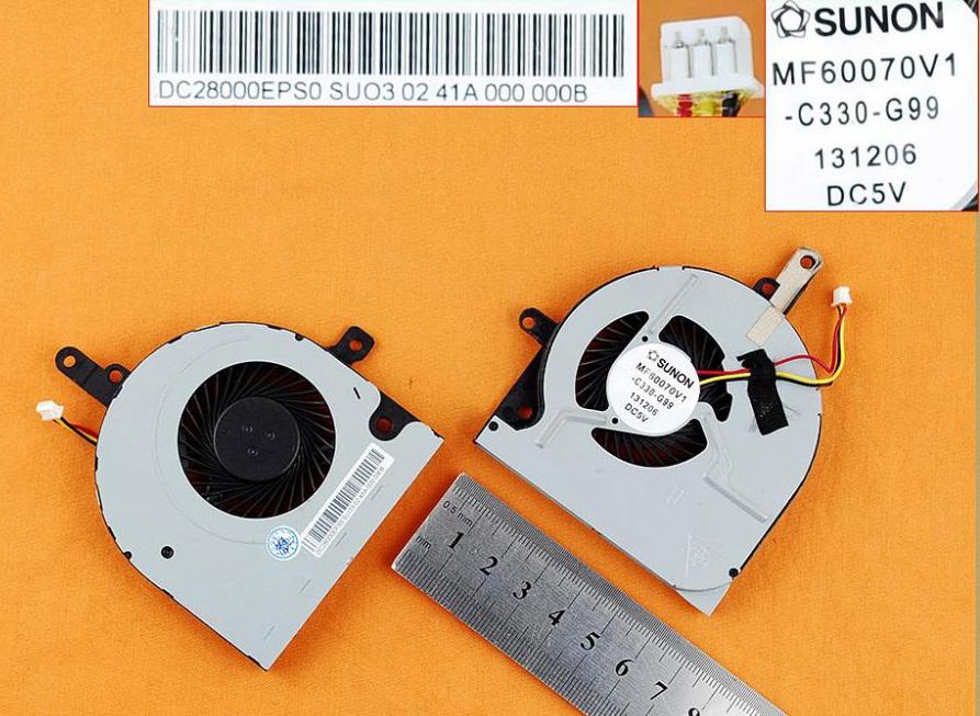 Ventilátor chlazení pro notebooky Toshiba Satellite C55-B C55T-B C50D-B