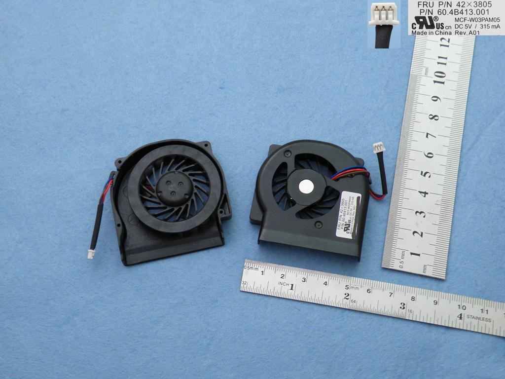 Ventilátor chlazení pro notebooky IBM Thinkpad Lenovo X60 X61