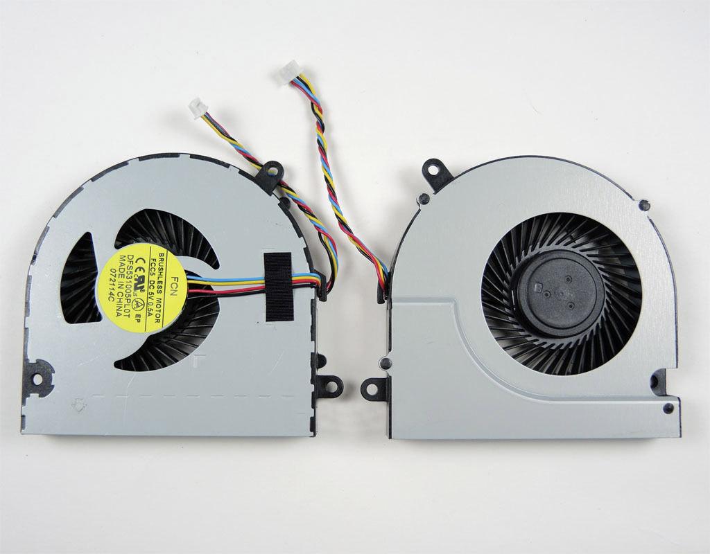 Ventilátor chlazení pro notebook Lenovo IdeaPad G700 G700A G710 G710A Z710