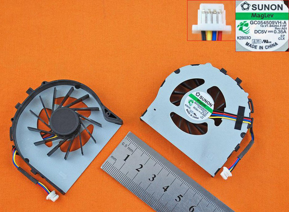 Ventilátor chlazení pro HP EliteBook 2740 2740P 2760 2760P