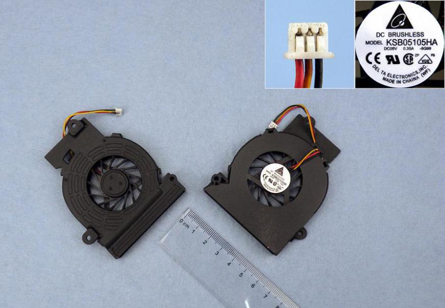 Ventilátor chlazení pro notebooky Fujitsu Siemens Amilo Pro V2055 V2030 V2035 L1310G