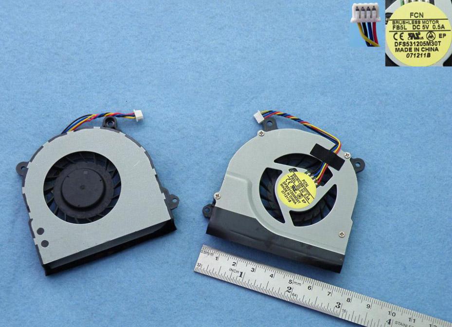 Ventilátor chlazení pro notebooky Toshiba Satellite U500 U505 M500 M900 M505