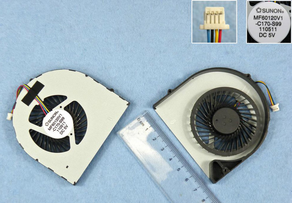 Ventilátor chlazení pro notebooky Acer Aspire 5560 5560G
