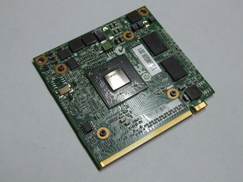 nVIDIA Geforce 9300M GS MXM II 256 MB