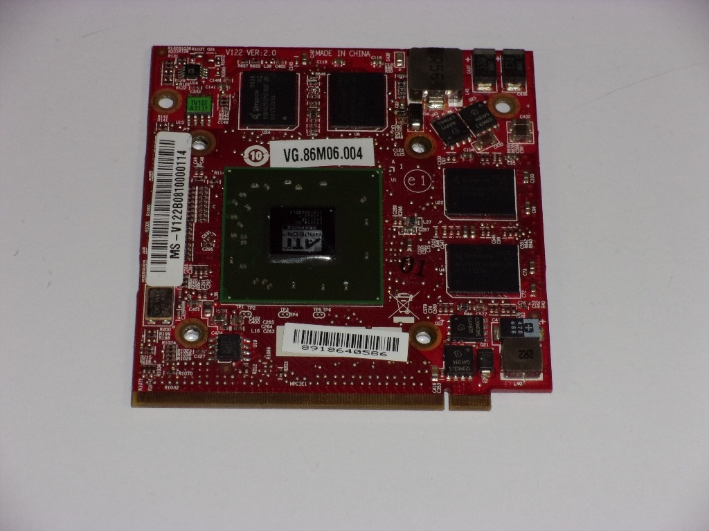 ATI Radeon HD 3650 512MB MXM II