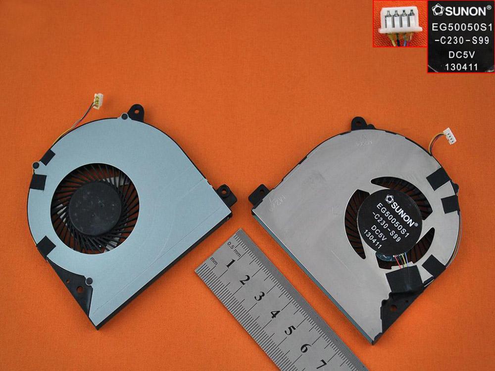 Ventilátor chlazení pro notebook Lenovo Ideapad S500