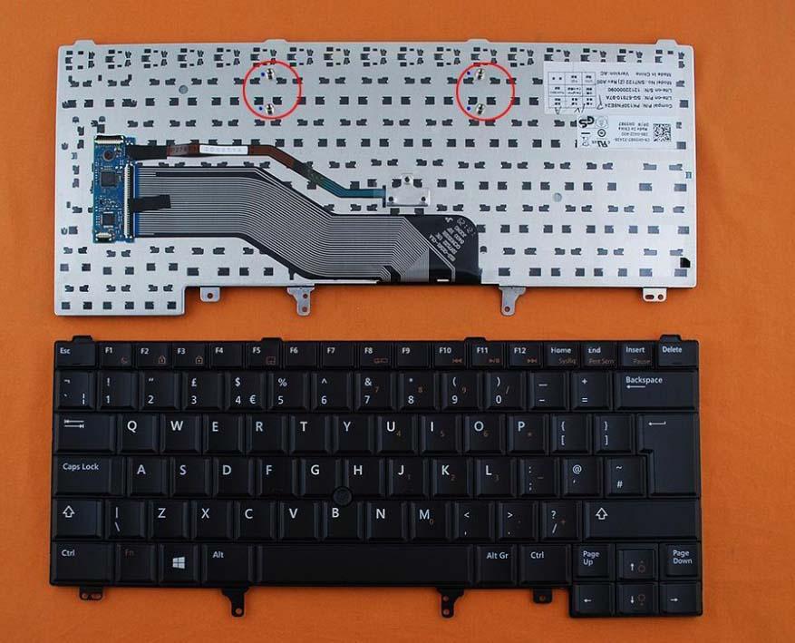 Klávesnice Dell Latitude E5420 E5430 E6220