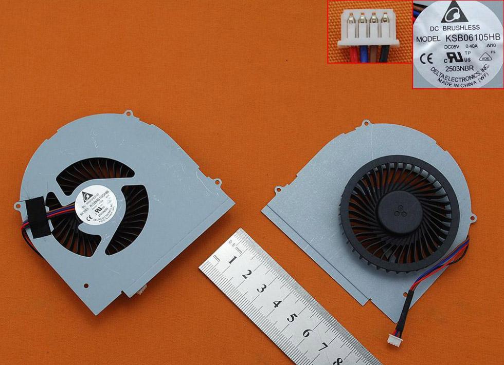 Ventilátor chlazení pro notebook Lenovo IdeaPad Y580 Y580M