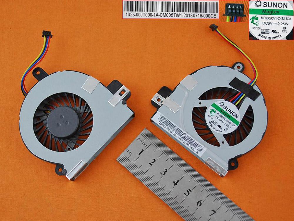 Ventilátor chlazení pro notebook: Asus VivoPC vm60 VM60-G083M