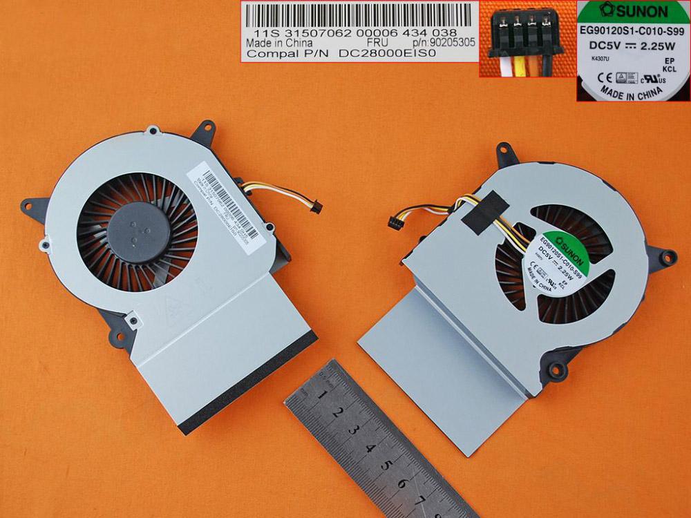 Ventilátor chlazení pro notebook Lenovo IdeaCentre A740 A540
