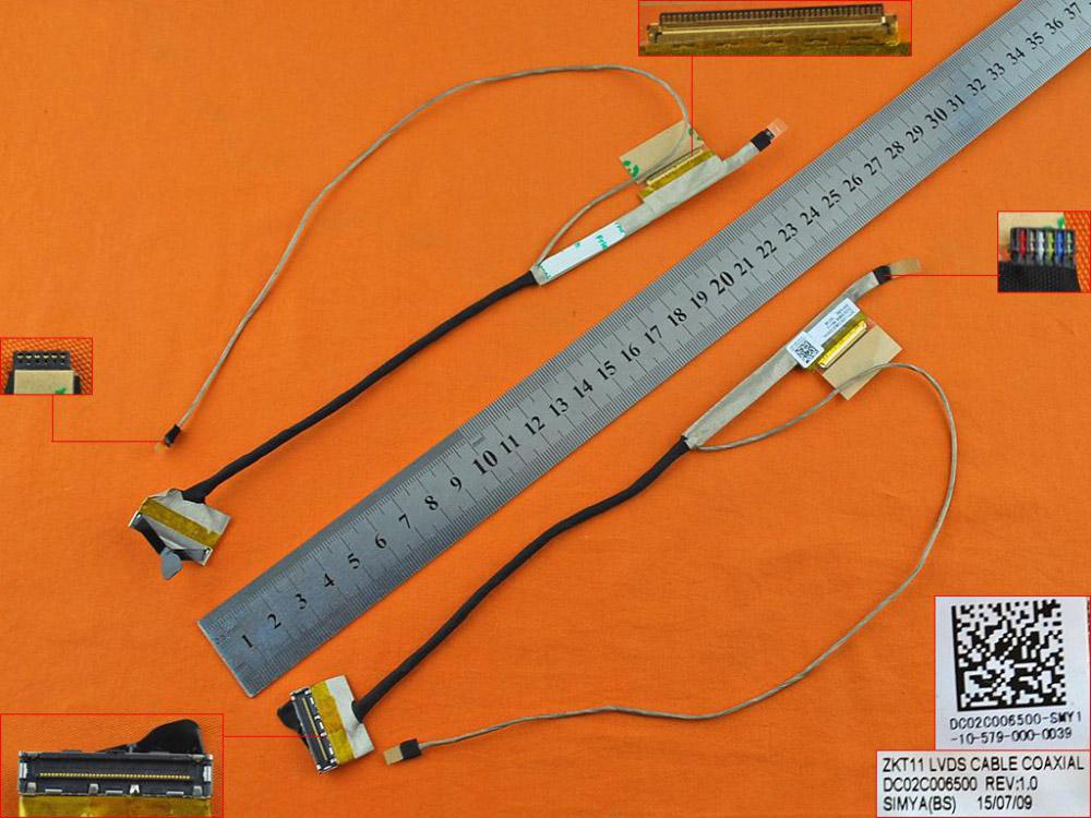 LCD flex kabel pro notebooky HP Pavilion Touchsmart 11 11-E 11-E000, verze 1