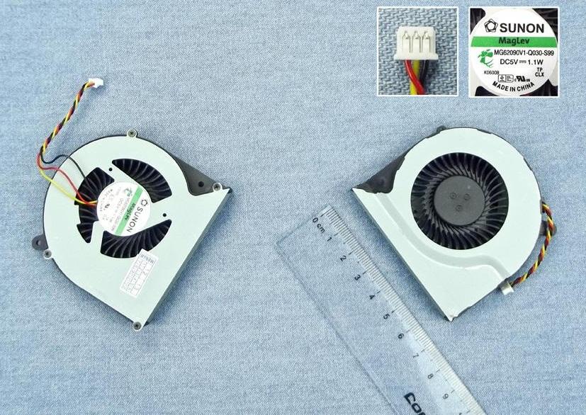 Ventilátor chlazení pro notebooky Toshiba Satellite Pro C850 C855 C870 C875 L850 L870