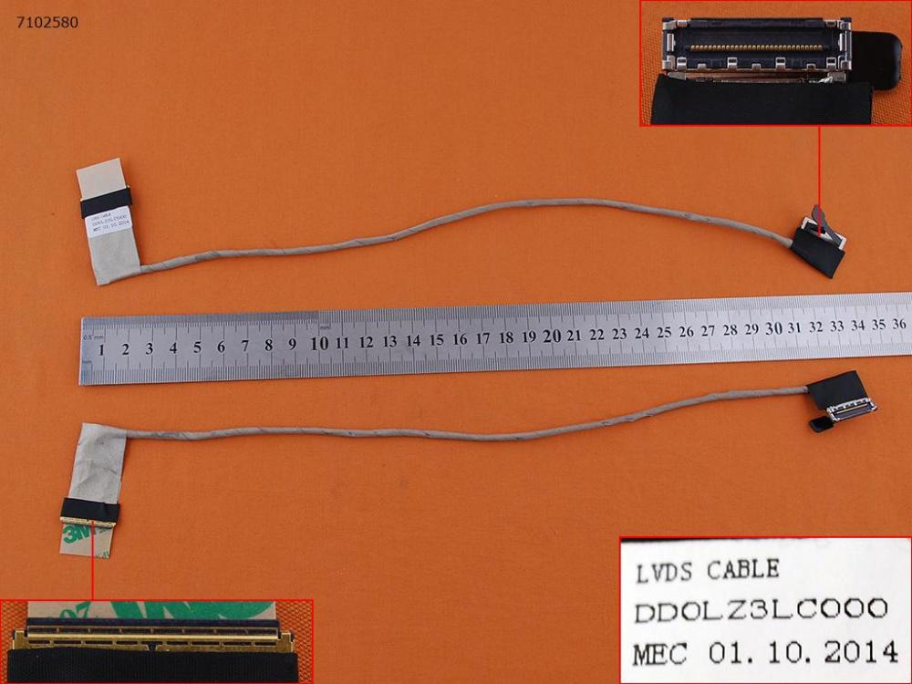 LCD flex kabel pro notebooky Lenovo Ideapad Z580 Z585 Z580A Z585A
