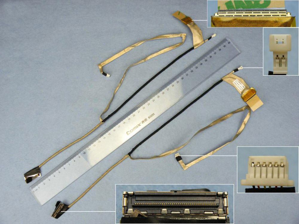 LCD flex kabel pro notebooky HP Pavilion DV7-4000