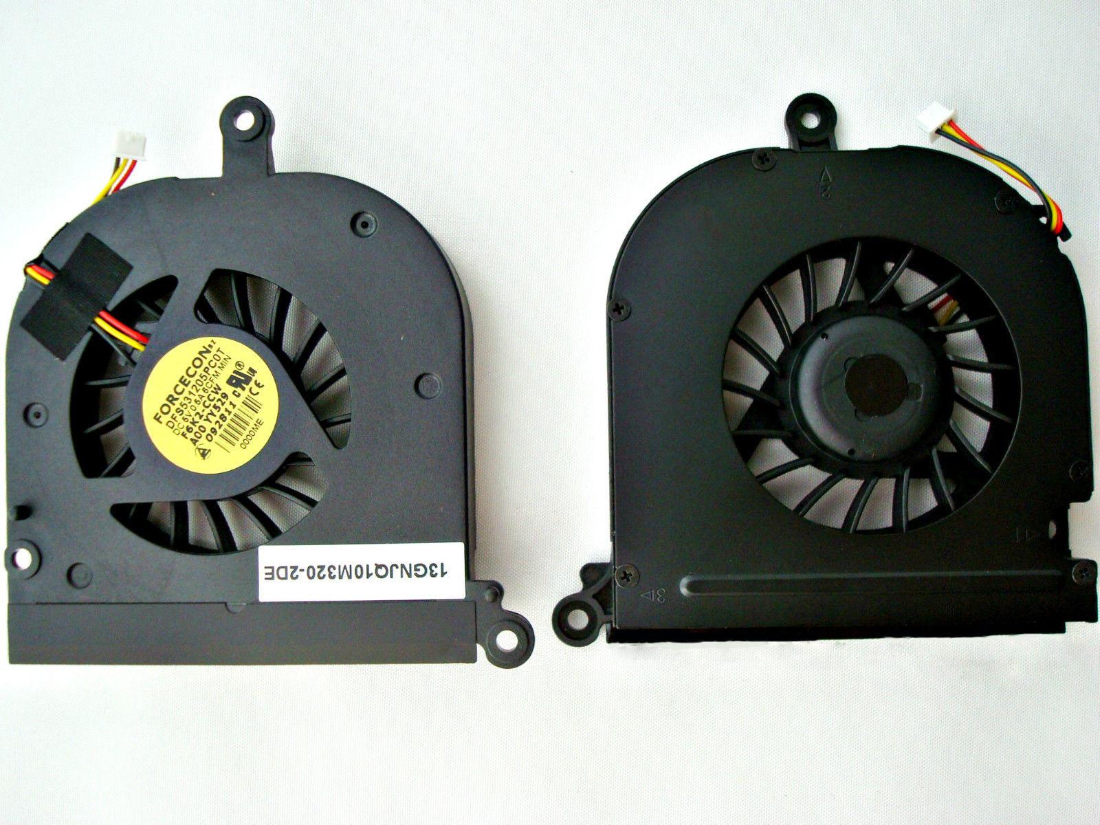 Ventilátor chlazení pro notebooky Dell Inspiron 1420 Vostro 1400