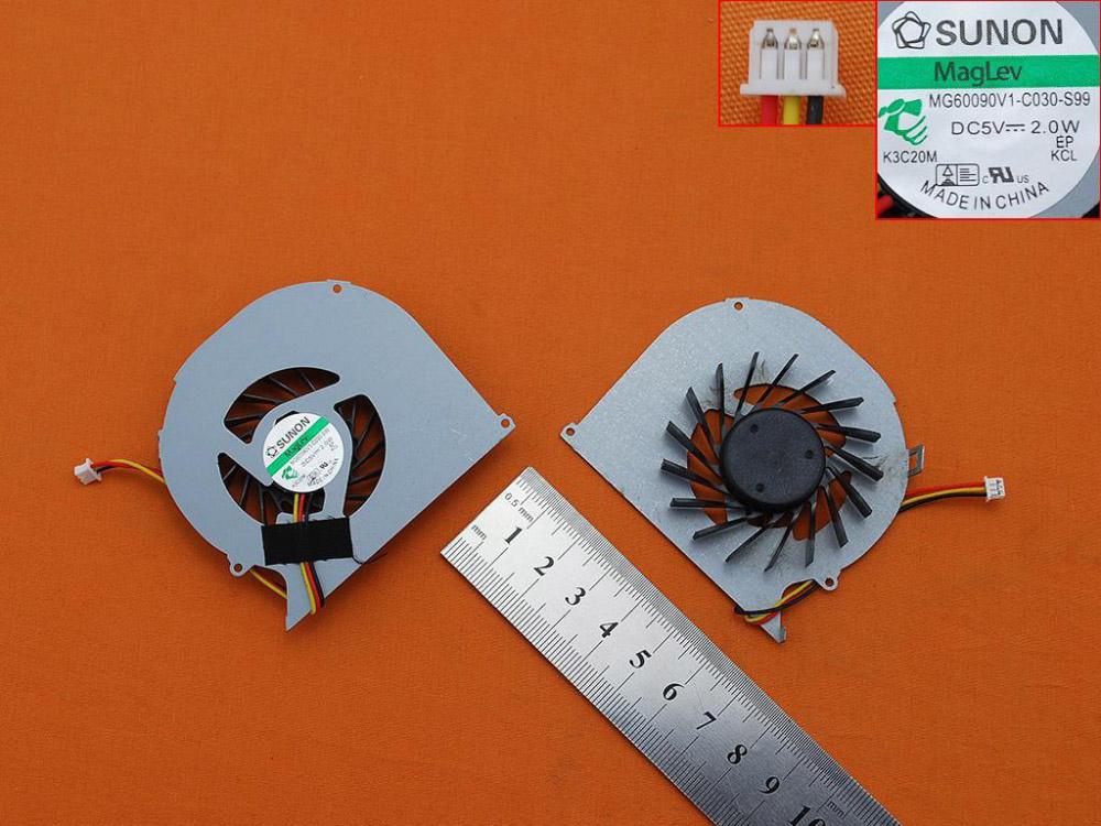Ventilátor chlazení pro notebooky Dell Inspiron 15R 5520 5525 7520 , verze 2