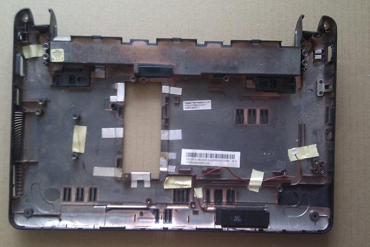 Spodní plastvový díl - vana pro notebooky Asus Eee PC 1005