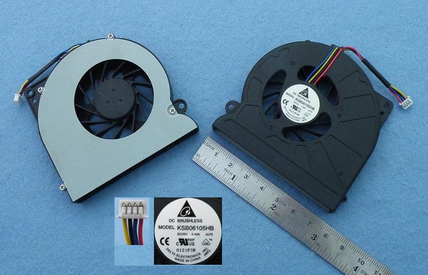 Ventilátor chlazení pro notebooky Asus N61 N61J N61JV N61JQ K52 K52F A52F A52JK A52 N64X N71JQ N71JV N71JA N71VG