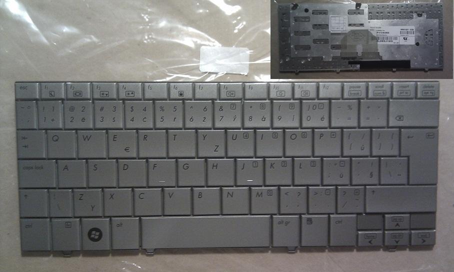 CZ ( česká ) klávesnice pro notebooky HP Mini Note 2133 2140 - stříbrná