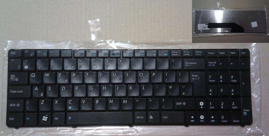 "Klávesnice Asus X5D X5DC X5DIJ X50IJ X5DIN X51 X70I - velká klávesa ""Enter"""